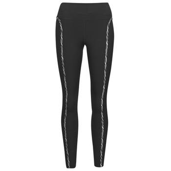 Oblačila Ženske Pajkice Nike NIKE ONE LUXE ICNCLSH TGT Črna / Vijolična