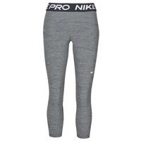 Oblačila Ženske Pajkice Nike NIKE PRO 365 TIGHT CROP Siva / Bela