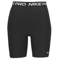Oblačila Ženske Kratke hlače & Bermuda Nike NIKE PRO 365 SHORT 7IN HI RISE Črna / Bela