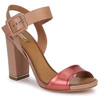 Čevlji  Ženske Sandali & Odprti čevlji Eva Turner CHANTEVIEL Bronze / Rdeča