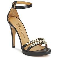 Čevlji  Ženske Sandali & Odprti čevlji Eva Turner VAGIBEGO Črna