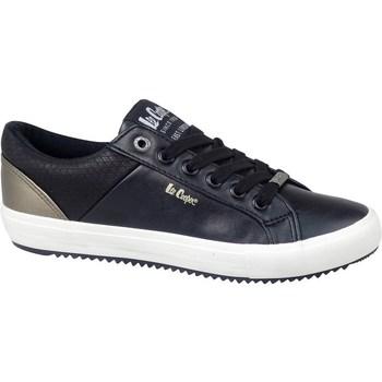 Čevlji  Moški Nizke superge Lee Cooper LCJL2031041 Črna, Zlata