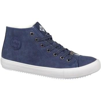 Čevlji  Moški Visoke superge Lee Cooper LCJL2031012 Mornarsko modra