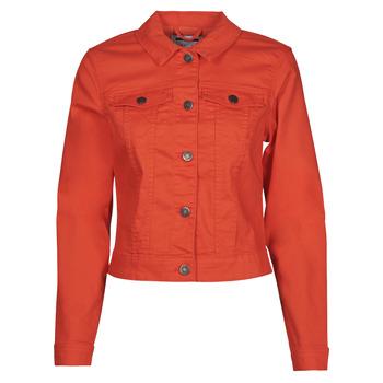 Oblačila Ženske Jeans jakne Noisy May NMDEBRA Rdeča