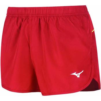 Oblačila Ženske Kratke hlače & Bermuda Mizuno Short femme  Premium JPN Split rouge/rouge