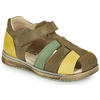 Čevlji  Dečki Sandali & Odprti čevlji Citrouille et Compagnie FRINOUI Kaki