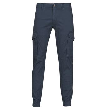 Oblačila Moški Hlače cargo Jack & Jones JJIPAUL Modra