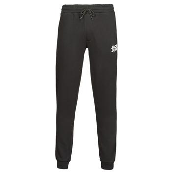 Oblačila Moški Spodnji deli trenirke  Jack & Jones JJIGORDON Črna