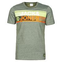 Oblačila Moški Majice s kratkimi rokavi Jack & Jones JCONICCO Kaki