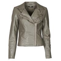 Oblačila Ženske Usnjene jakne & Sintetične jakne Only ONLGEMMA Siva