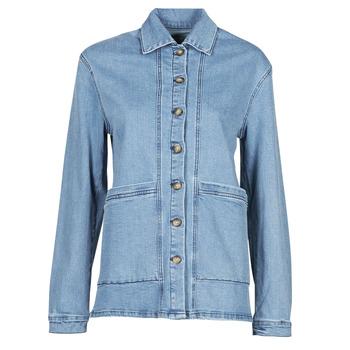 Oblačila Ženske Jeans jakne Betty London OVEST Modra