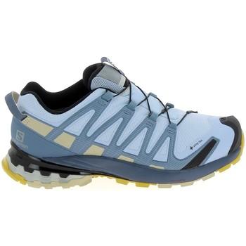 Čevlji  Pohodništvo Salomon XA Pro GTX Bleu Ciel Modra
