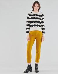 Oblačila Ženske Hlače Chino / Carrot Only ONLGLOWING Rumena