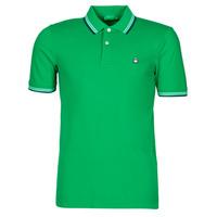 Oblačila Moški Polo majice kratki rokavi Benetton 3WG9J3181-108 Zelena