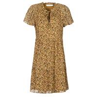 Oblačila Ženske Kratke obleke Naf Naf MARIA R1 Kamel
