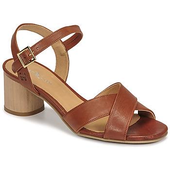 Čevlji  Ženske Sandali & Odprti čevlji Dream in Green ODAINE Tan