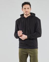 Oblačila Moški Puloverji Schott PLHOOD20 Črna