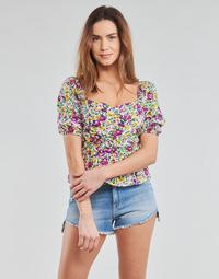 Oblačila Ženske Topi & Bluze Yurban OPEET Bela
