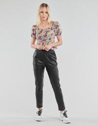 Oblačila Ženske Hlače s 5 žepi Yurban OPATI Črna