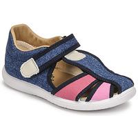 Čevlji  Deklice Sandali & Odprti čevlji Citrouille et Compagnie GUNCAL Modra