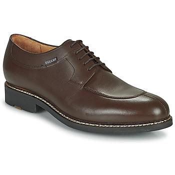 Čevlji  Moški Čevlji Derby Pellet Magellan Kostanjeva