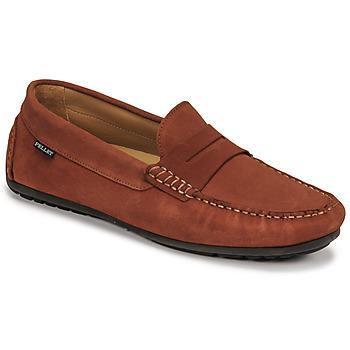 Čevlji  Moški Mokasini Christian Pellet Cador Rdeča