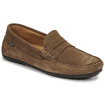 Čevlji  Moški Mokasini Christian Pellet Cador Taupe