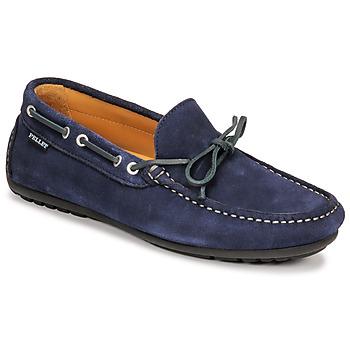 Čevlji  Moški Mokasini Pellet Nere Modra