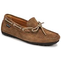 Čevlji  Moški Mokasini Christian Pellet Nere Taupe