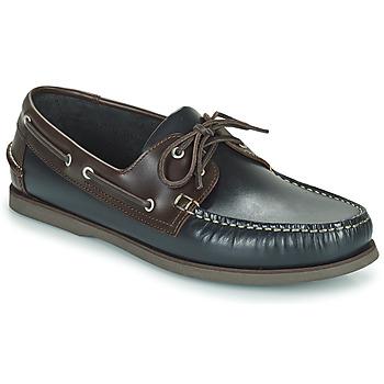 Čevlji  Moški Mokasini & Jadralni čevlji Pellet Vendée Modra / Kostanjeva