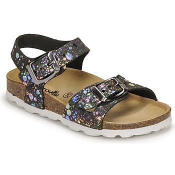 Čevlji  Deklice Sandali & Odprti čevlji Citrouille et Compagnie RELUNE Črna
