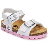 Čevlji  Deklice Sandali & Odprti čevlji Citrouille et Compagnie RELUNE Bela