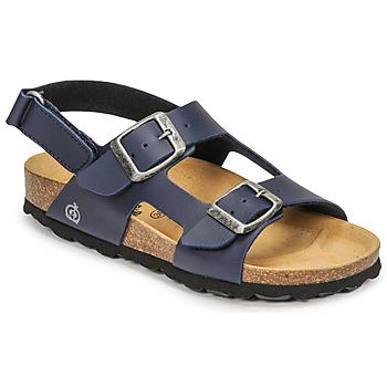 Čevlji  Dečki Sandali & Odprti čevlji Citrouille et Compagnie KELATU Modra