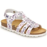 Čevlji  Deklice Sandali & Odprti čevlji Citrouille et Compagnie MALIA Bela