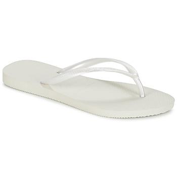 Čevlji  Ženske Japonke Havaianas SLIM Bela