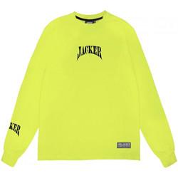 Oblačila Moški Majice z dolgimi rokavi Jacker Corpo Zelena