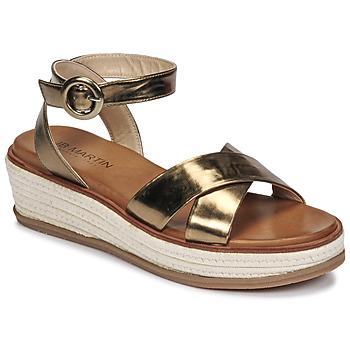 Čevlji  Ženske Sandali & Odprti čevlji JB Martin CASTEL Kaki