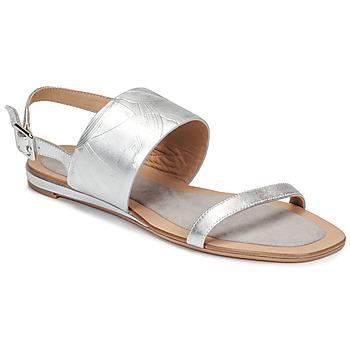 Čevlji  Ženske Sandali & Odprti čevlji JB Martin AVERY Silver