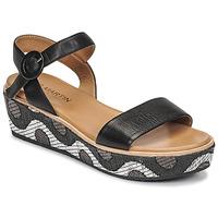 Čevlji  Ženske Sandali & Odprti čevlji JB Martin CAT Črna