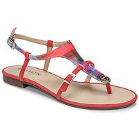 Čevlji  Ženske Sandali & Odprti čevlji JB Martin GAELIA E19 Rdeča