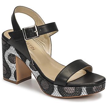 Čevlji  Ženske Sandali & Odprti čevlji JB Martin XEPIA Črna
