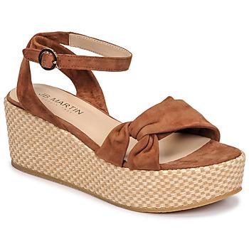 Čevlji  Ženske Sandali & Odprti čevlji JB Martin CAPRI Tan