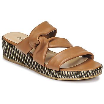 Čevlji  Ženske Sandali & Odprti čevlji JB Martin JAM Tan