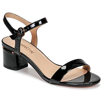 Čevlji  Ženske Sandali & Odprti čevlji JB Martin MALINA Črna