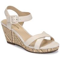 Čevlji  Ženske Sandali & Odprti čevlji JB Martin QUERIDA E20 Bež