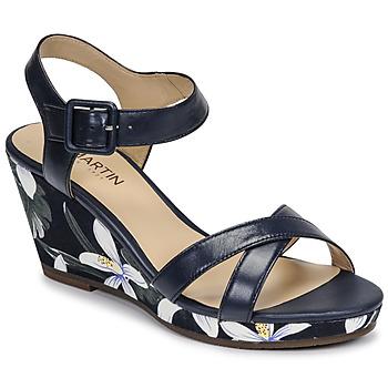 Čevlji  Ženske Sandali & Odprti čevlji JB Martin QUERIDA Modra