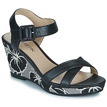 Čevlji  Ženske Sandali & Odprti čevlji JB Martin QUERIDA Črna