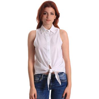 Oblačila Ženske Topi & Bluze Fornarina SE174573CA1609 Biely