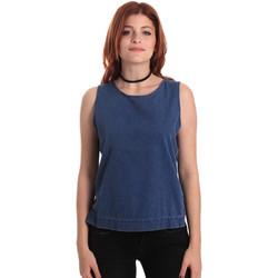 Oblačila Ženske Topi & Bluze Fornarina SE175J70D883SK Modra