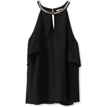 Oblačila Ženske Topi & Bluze Liu Jo W19444T9767 Črna